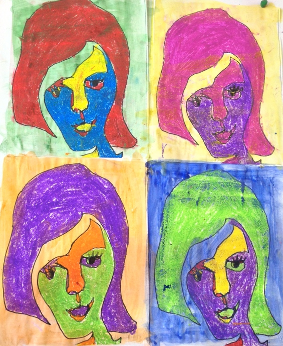 Andy Warhol Contour Line Drawings